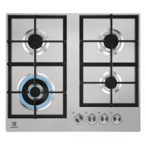Table de cuisson gaz 60cm 4 foyers Inox - Electrolux Réf. KGU64361X
