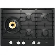 Table de cuisson gaz 75cm 5 foyers Noir graphite - ASKO Réf. HG1776AB