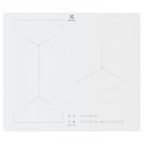 Table de cuisson induction 60cm 3 foyers Blanc - ELECTROLUX Réf. EIV63342CW