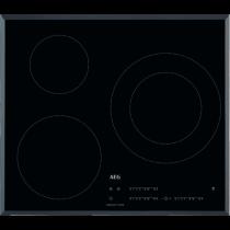 Table de cuisson induction 60cm 3 foyers Noir - AEG Réf. IKB63402FB