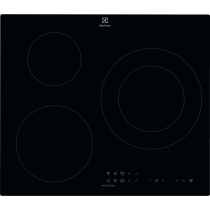 Table de cuisson induction 60cm 3 foyers Noir - ELECTROLUX Réf. LIT60333CK