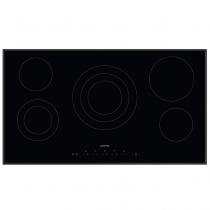 Table de cuisson vitrocéramique 90cm 5 foyers Noir - SMEG Réf. SE395ETB