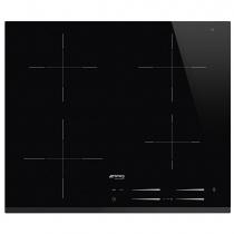Table induction 60cm 4 foyers Noir - SMEG Réf. SI7643B