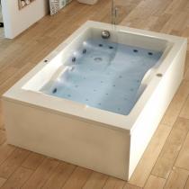Tablier L Novalu Welness 180x120 pour baignoire Confidence Blanc - AQUARINE Réf. 223137