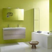 Tablier latéral 75 x 54 pour baignoire avec châssis Blanc - JACOB DELAFON Réf. E6350-00
