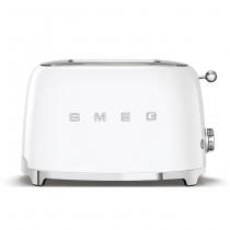Toaster 2 tranches Années 50 Blanc - SMEG Réf. TSF01WHEU