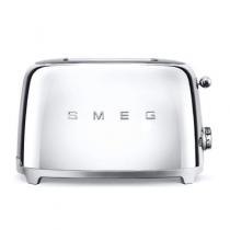 Toaster 2 tranches Années 50 Chromé - SMEG Réf. TSF01SSEU