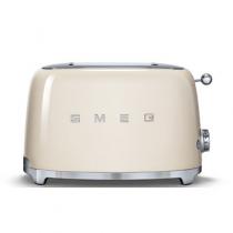 Toaster 2 tranches Années 50 Crème - SMEG Réf. TSF01CREU