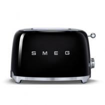 Toaster 2 tranches Années 50 Noir - SMEG Réf. TSF01BLEU