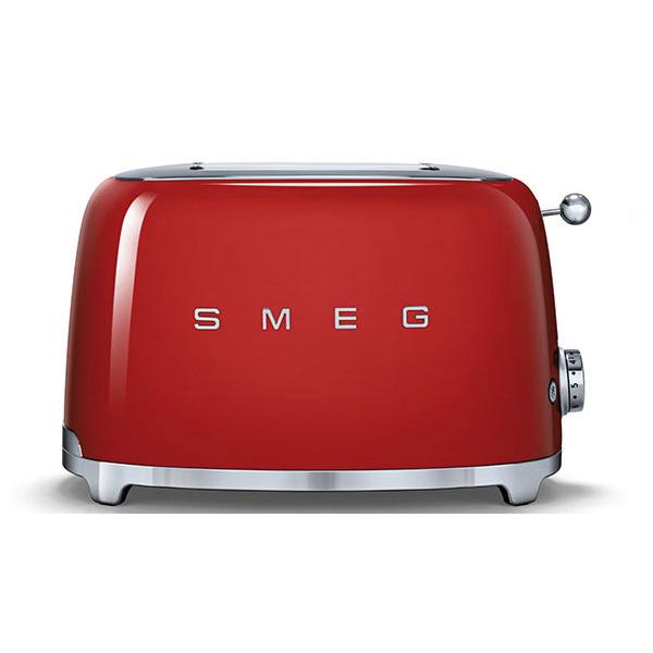 Toaster 2 tranches Années 50 Rouge - SMEG Réf. TSF01RDEU
