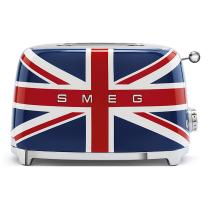 Toaster 2 tranches Années 50 Union Jack - SMEG Réf. TSF01UJEU