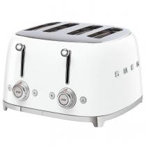 Toaster 4 tranches Années 50 Blanc - SMEG Réf. TSF03WHEU