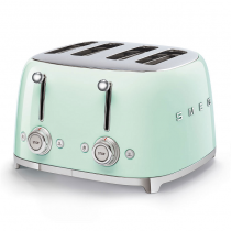 Toaster 4 tranches Années 50 Vert d\'eau - SMEG Réf. TSF03PGEU