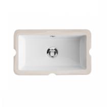 Vasque à encastrer par dessous Agres 44cm Blanc - SANINDUSA Réf. 118940