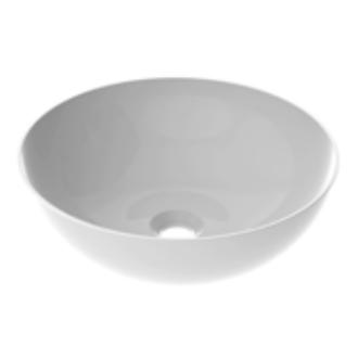 Vasque à poser BOLEA 40cm Blanc brillant - AQUARINE Réf. 824864