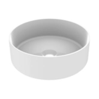 Vasque à poser CYLEA 36 cm Blanc brillant - AQUARINE Réf. 824863