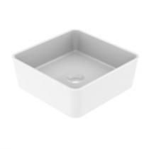 Vasque à poser KAREA 37cm Blanc brillant - AQUARINE Réf. 824861