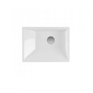 Vasque à poser Vista 47cm Blanc - SANINDUSA Réf. 109450004