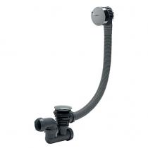 Vidage à câble ABS Chromé - Wirquin Réf. 30720356